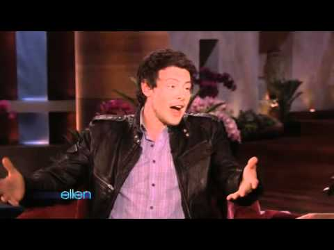 Cory Monteith Recreates His 'Glee' Audition
