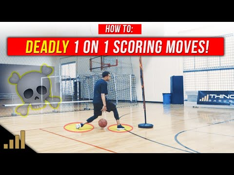 How to: UNSTOPPABLE 1 on 1 Basketball Moves to KILL Your Opponents!