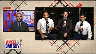 UFC 234 Pre-Show | Ariel & The Bad Guy | ESPN MMA