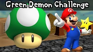 Super Mario 64: Green Demon Challenge - Shifting Sand Land