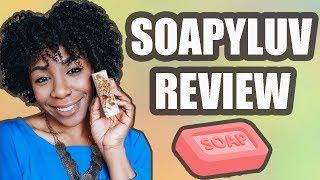 SoapyLuv Review | Organic Soap Bars