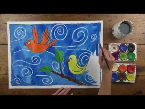 FREE! Birds Artwork