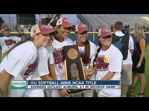OU Softball wins National Title with Youth Movement
