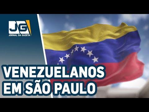 Como vivem os venezuelanos em São Paulo