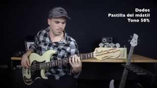 Yamaha BB2024x - Demo & Review [Escuela de Bajistas - Miki Santamaria] - Spanish