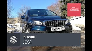 Suzuki SX4 тест-драйв. Хорошая манга.