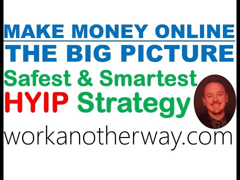 Make Money Online What is a HYIP Safest and Smartest HYIP Strategy
