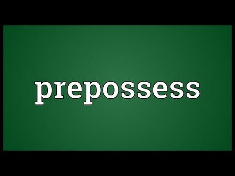 Header of prepossess