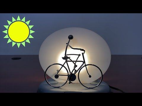Solar Powered Cyclist by ISHIGURO ☀️ Gadgetify
