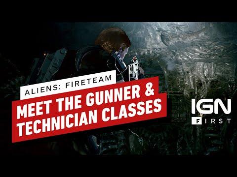 Новый геймплей кооперативного шутера Aliens: Fireteam
