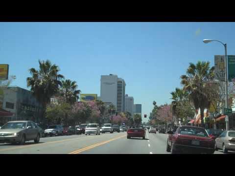 Ventura Blvd in Sherman Oaks California HD