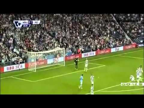 Manchester city vs West Brom 3 0 All Goals 2015