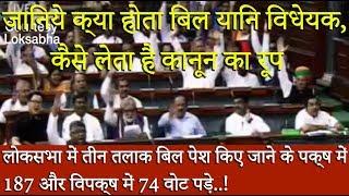 विधेयक पास होते वक़्त क्या हुआ लोक सभा स्पीकर Om Birla उठे और फिर जो हुआ... खुद ही देखलो !