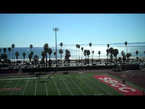Sports field at Santa Barbara City College
