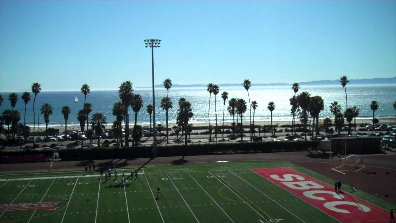 Colleges In Santa Barbara >> Sports Field At Santa Barbara City College