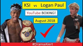 Logan Paul vs KSI  Boxing CONFIRMED! (✔) #DramaAlert Jake Paul vs Deji , Snake vs Wolfieraps!