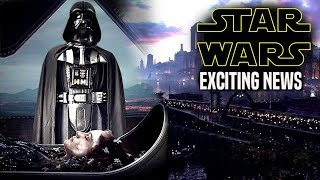 Star Wars! HUGE News Of Darth Vader & More! (Star Wars News)
