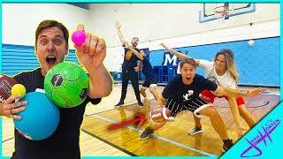 WRONG SPORT BASKETBALL! (2v2 Challenge)
