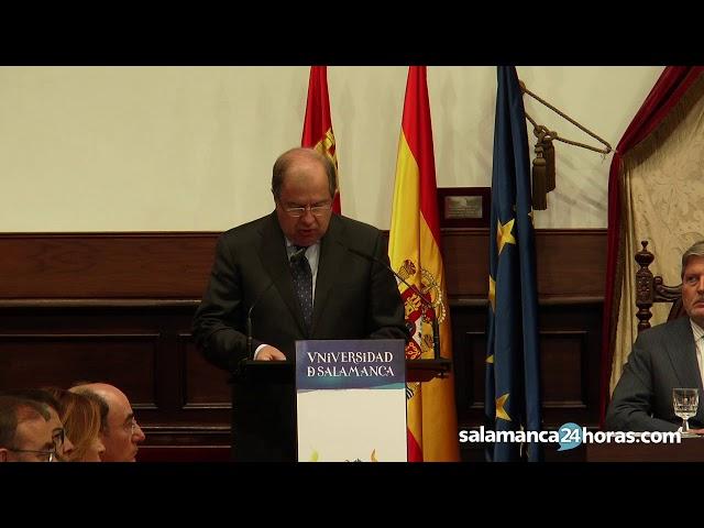 Discurso del Presidente de la Junta de Castilla y León en la apertura del curso universitario
