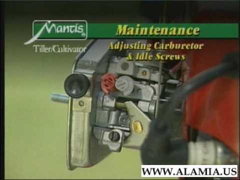 Mantis Tiller Maintenance and Trouble Shooting  http://www mantistillerparts com