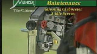 Mantis Tiller Maintenance and Trouble Shooting http://www.mantistillerparts.com