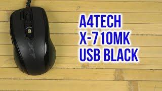 Розпакування A4Tech X-710MK, USB Black