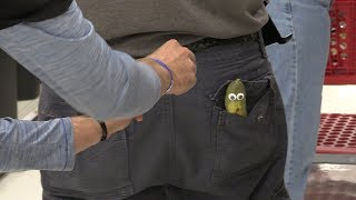 Sneaking Pickles into Peoples Pockets