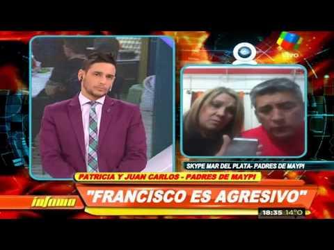 Los padres de Maypi apuntan contra Francisco