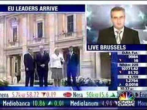 Rome hosts EU constitution signing