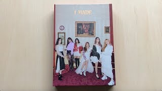 ♡Unboxing (G)I-DLE (여자)아이들 2nd Mini Album I MADE♡