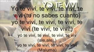 Te Vivi - Villamizar, Elvis Crespo & Maluma Lyrics