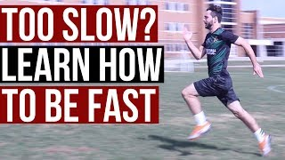 How To Run Faster and Longer In Soccer - How To Increase Speed and Stamina For Soccer