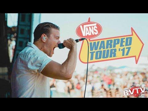 "Dance Gavin Dance - ""We Own The Night"" LIVE! @ Warped Tour 2017"