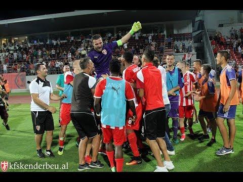 KF Skënderbeu 2-1 Mladá Boleslav