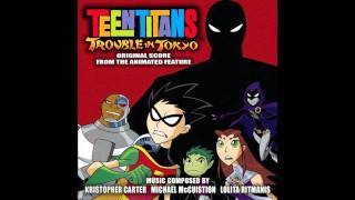 Teen Titans- Trouble in Tokyo OST~ #20 Chasing Titans HD 720p