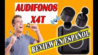 AUDIFONOS X4T REVIEW EN ESPAÑOL