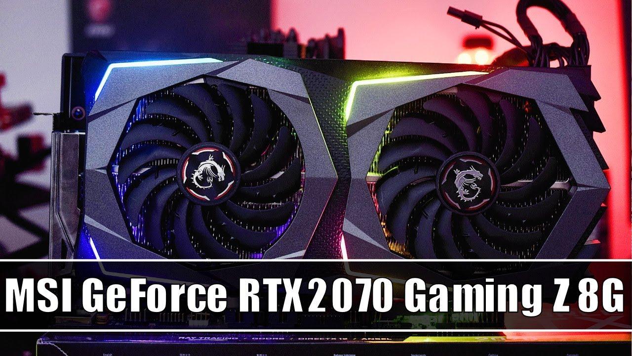 MSI GeForce RTX 2070 Gaming Z 8G im Test - Flüsterleise GeForce RTX von MSI