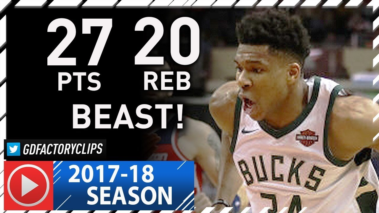 giannis-antetokounmpo-full-highlights-vs-wizards-2018-01-15-27-pts-20-reb-6-ast-beast
