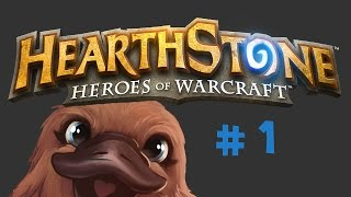 Hearthstone: Heroes of Warcraft * Let's Play * Episode # 1 -Tutorial?-