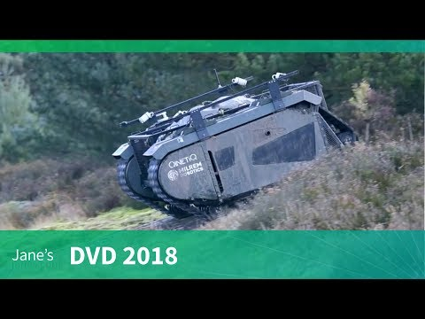 DVD 2018: QinetiQ's TITAN Unmanned Ground Vehicle (UGV)