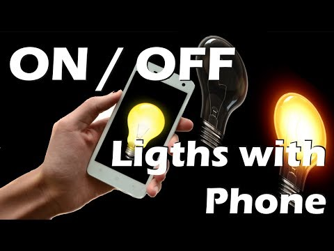 Control a Light Bulb using Android and Arduino | Home Automation
