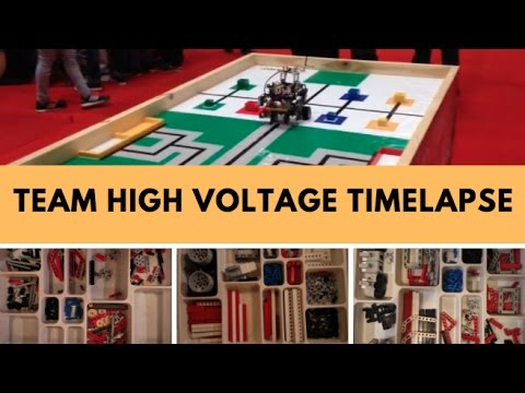 WRO India 2016 | Team High Voltage Robot Building Timelapse