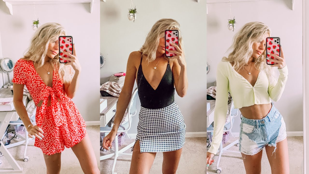 CUTE OUTFITS FOR SUMMER *try-on haul*