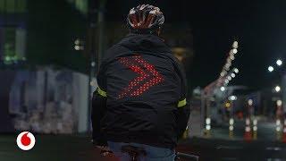 Video: Una chaqueta inteligente que podrá evitar miles de accidentes de ciclistas
