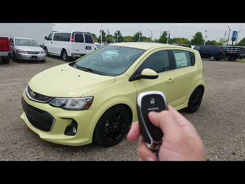 2017 Chevy Sonic Hatchback Premier Full Review - Brimstone