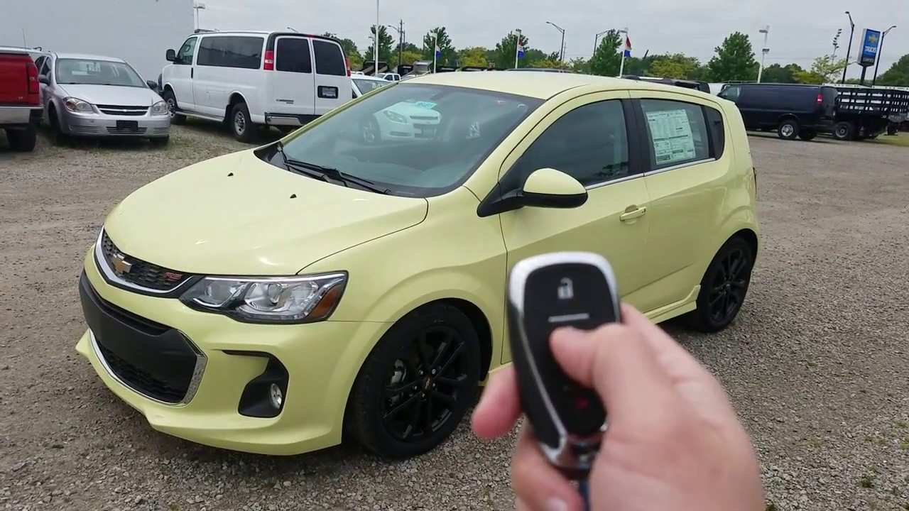 2017 Chevy Sonic Hatchback Premier Full Review Brimstone