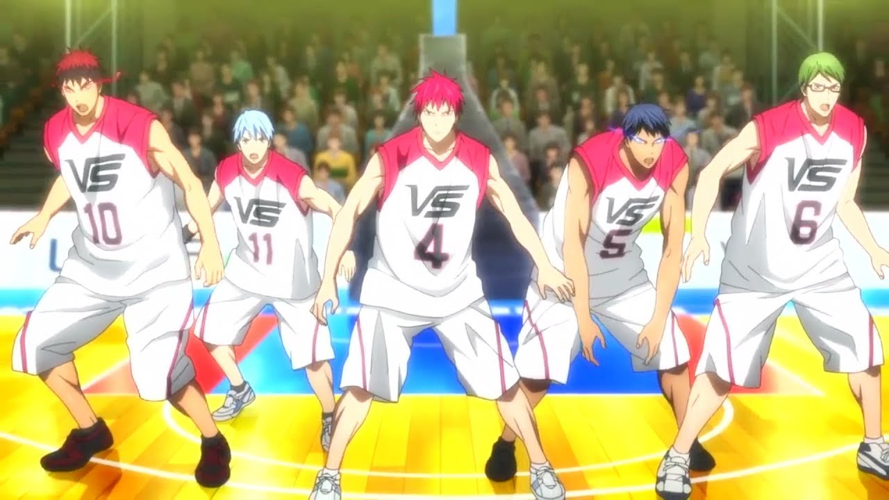 Kuroko No Basket: Last Game 「AMV」EDM Mix 1 Hour ...
