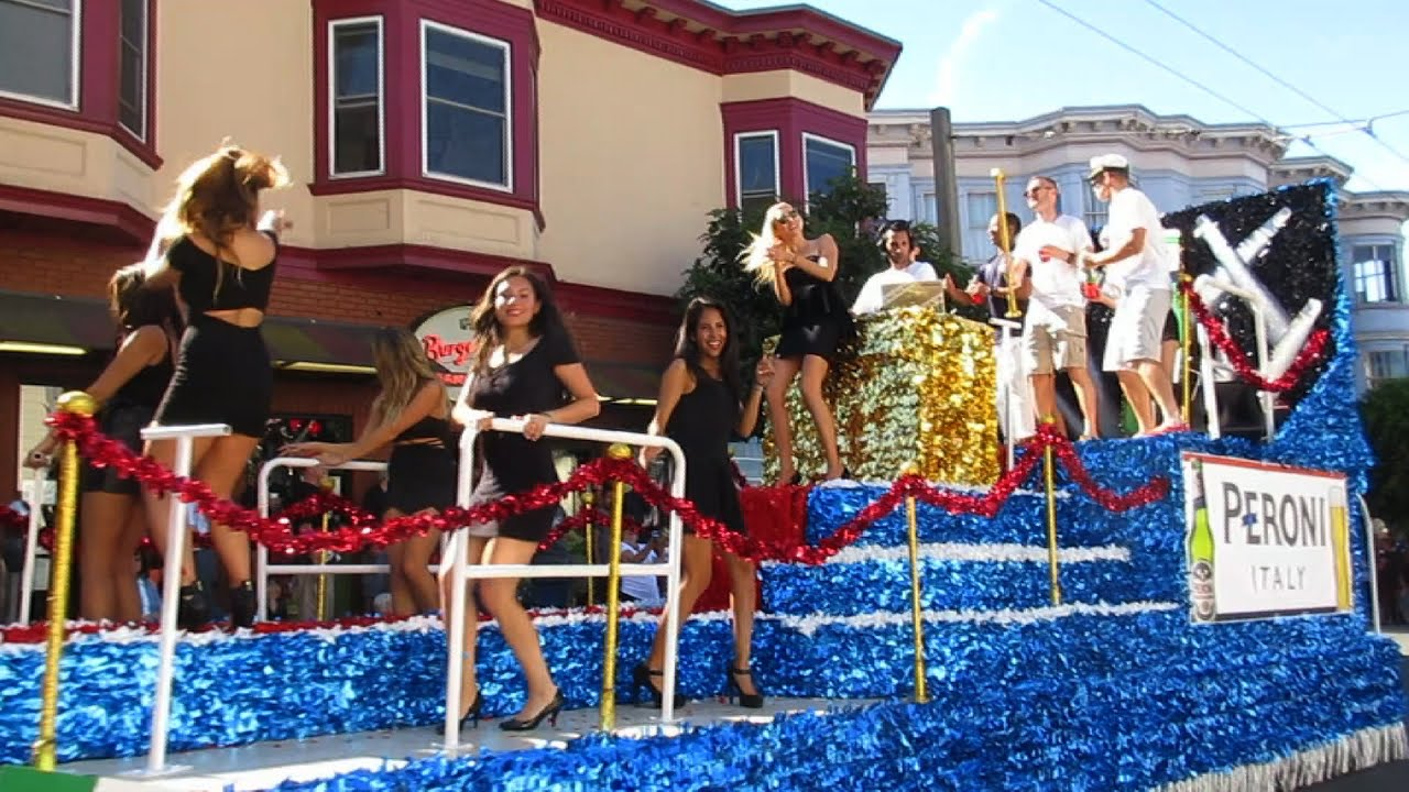 Italian Heritage Parade 2015 Columbus Avenue North Beach ...