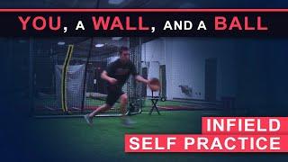 You, A Wall, and A Ball - Infield Self Practice - Coach Mongero - Winning Baseball