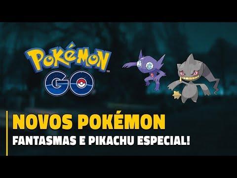 RAID DE MEWTWO, NOVOS POKÉMON FANTASMAS E PIKACHU ESPECIAL!   Pokémon GO